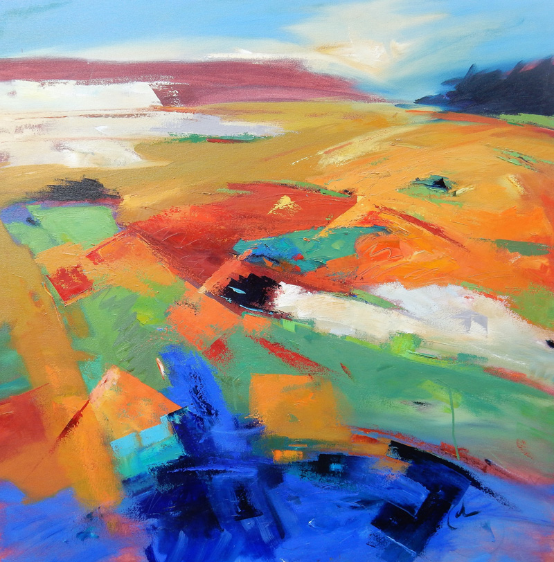 """""""Landforms, Suggestion of Place"""" by Gary Coleman"""